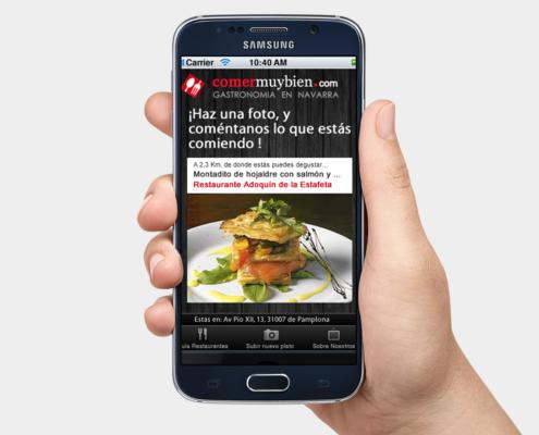 Comer muy bien app