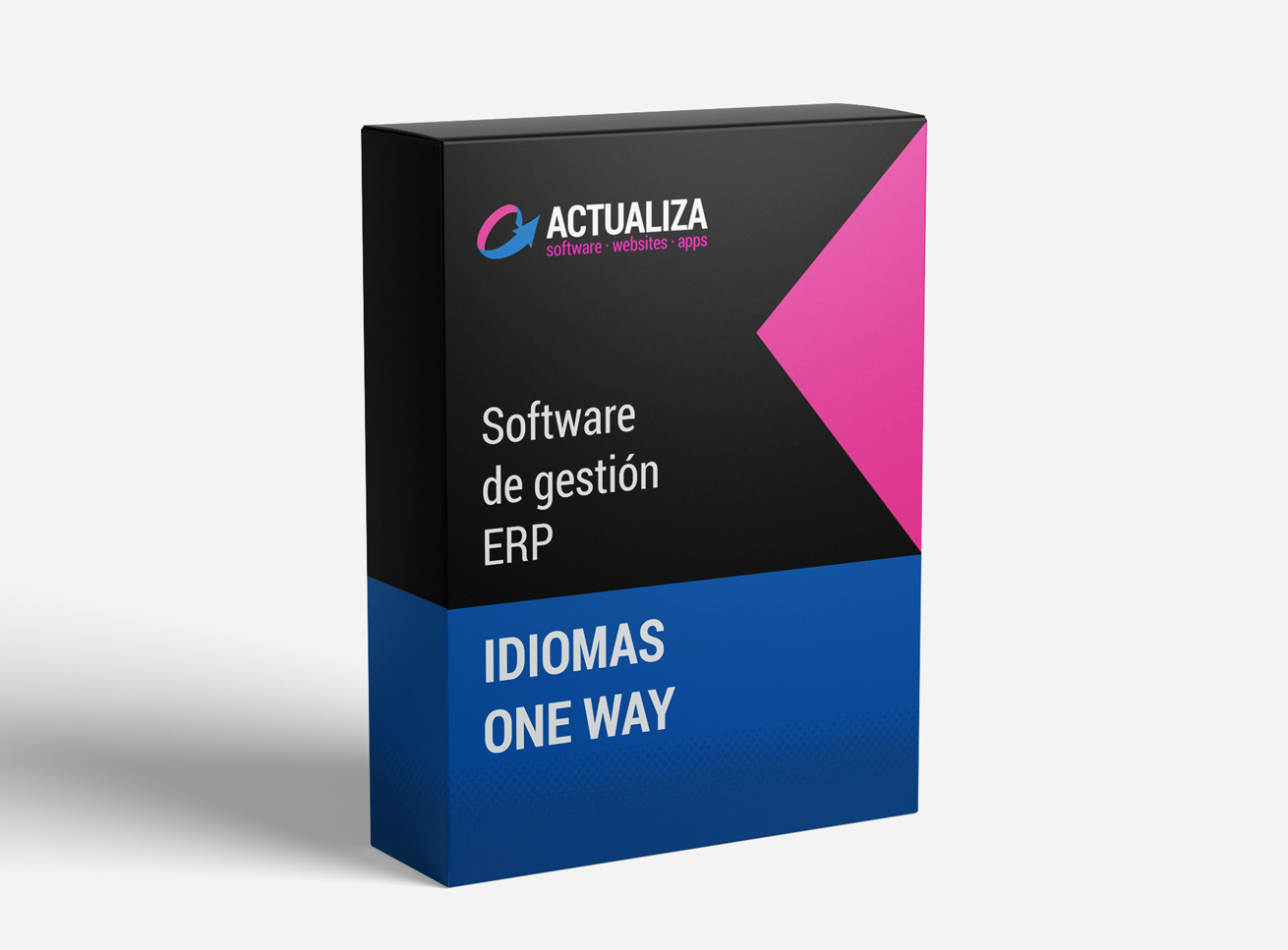 Idiomas One Way Software de gestión ERP