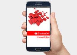 Santander Inmuebles app