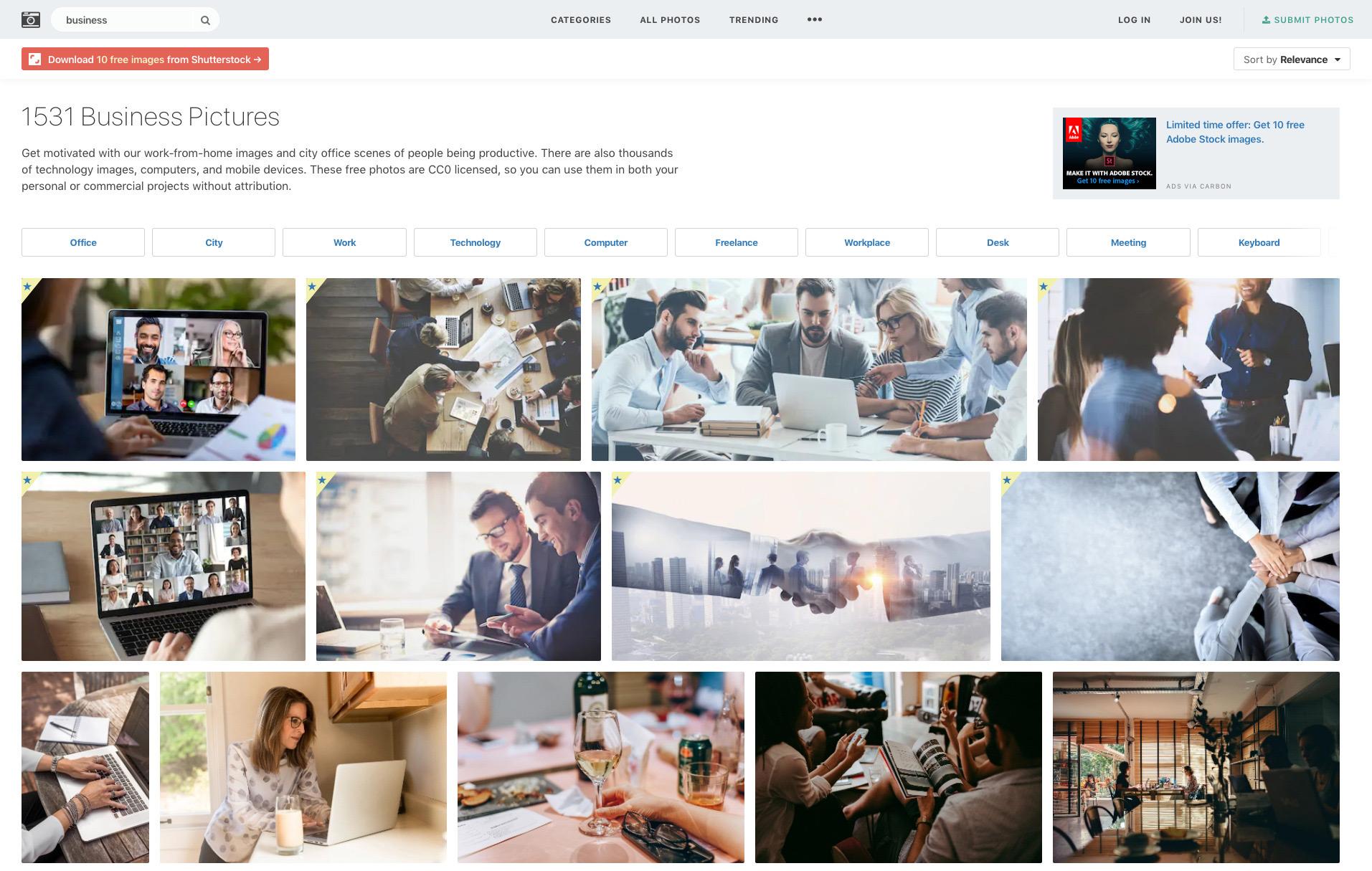 Stocksnap, fotografías gratis para tu web